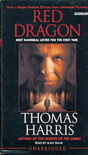 Audio book - Red Dragon by Thomas Harris   -   Cass