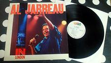 """Al Jarreau """"In London"""" LP WEA – 252 369-1 EUROPE 1985"""