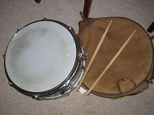VINTAGE Trommel Snare Drum  mit alter Tasche