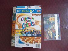 Justice League Mini Comic Bk 6/DC Comics General Mills Cereal Box Cin Tst Crnch