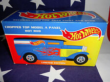 """""""HOT WHEELS"""" Chopped Top Model A Panel Hot Rod Limited Edition BOX ONLY"""