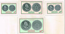 Ghana African Country Coins set 1965 MLH