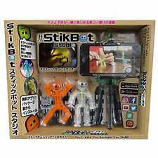 Kids Toy Figure Stikbots Outlet Sticky Bots Flat Surface Boys Fun Play Toys New