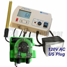 Milwaukee MC720 pH Controller + Dosing Pump, 115V, MC122 + MP810