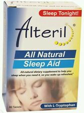 Alteril - Dietary Supplement Sleep Aid All Natural - 60 Tablets Box issues