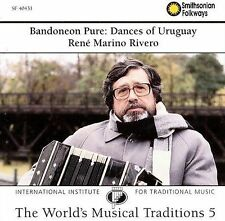 Bandoneon Pure: Dances of Uruguay Traditional Music of the World 5) - Ren Marin