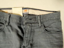 Hugo Boss Jeans 34 W x 32 Orange 63 Dublin Grey Gray Slim Fit Brand New w/ Tags
