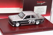TRUESCALE TSM 1976 DATSUN 510 #75 PAUL NEWMAN PLN RACING 1/43