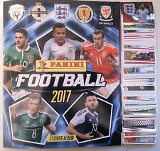 FULL / COMPLETE loose sticker set Panini Football 2017 + Album