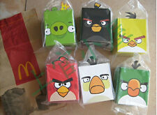 2012 China Mcdonald's Angry Birds plush 6 toys set FREE SHIPPING WORLDWIDE