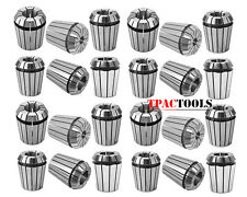 "ER32 COLLET 25PC SET 1/16""-3/4"" by 16th and 32nd ACCURATE NEW"