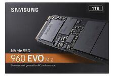 Samsung 960 EVO 1TB M.2 SSD MZ-V6E1T0BW