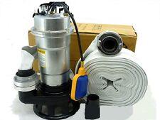 Pompe à eau immergée de relevage + 20 m de tuyau