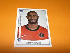 377 SAMMY TRAORE PARIS SAINT-GERMAIN PSG PANINI FOOT 2011 FOOTBALL 2010-2011