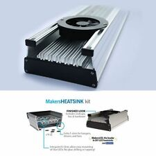 12 in MakersLED DIY aluminum heatsink kit :t Slot mounting Makers LED heat sink