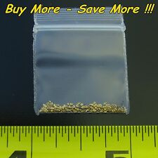 .155 Gram Natural Raw Alaskan Placer Gold Dust Fines Nugget Flake From Alaska AU