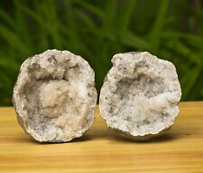 BEAUTIFUL COLLECTOR GRADE WHOLE KEOKUK GEODE WITH SNOWBALL 0058