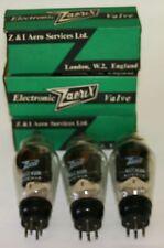 3 Vintage Zaerix U27/VU111 valves