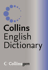 English Dictionary - Collins Gem: silver/blue cover - Pack of 10  £45.00 New