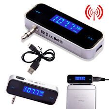Wireless Music to Car Radio FM Transmitter For 3.5mm MP3 iPod iPhone Tablets CB