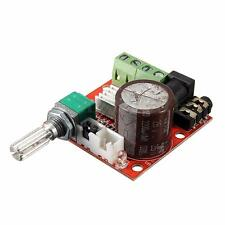 12V Mini Hi-Fi PAM8610 Audio Stereo Amplifier Circuit board Dual Channel D Class