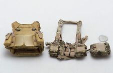 1/6 Soldier Story Marine Raiders MSOT LV-MBAV Body Armor D3 Chest Rig Lot *TOY*