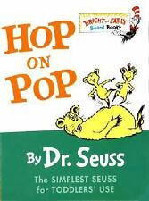 HOP ON POP [9780375828379] - DR. SEUSS (HARDCOVER) NEW