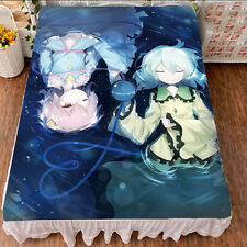 New Japanese Anime Touhou Project Komeiji Satori Cute Bed Sheet Blanket #Ka25