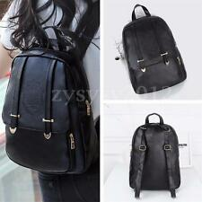 UK Stock Fashion PU leather Women's Backpack Shoulder bag Girls Rucksack Handbag