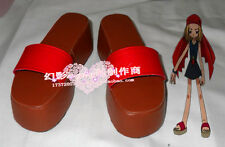 Shaman King Anna Red Halloween Summer Cosplay Shoes H016