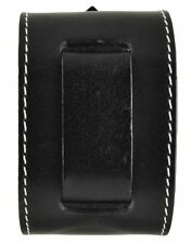 "Nemesis GSB Black Stitched Arrow End Leather Watch Cuff Band 24mm 10.5"" 2.25"""