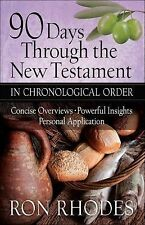 90 Days Through the New Testament in Chronological Order : *Helpful Timeline...