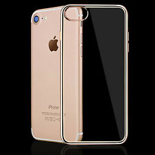 Hybrid Clear Back Shockproof TPU Case Cover for Apple iPhone 5 / 6  / 7 Plus