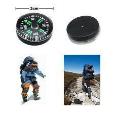 12 pieces 20mm new Small Mini Compass for Travel Hiking Navigation Directions