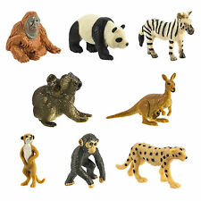 Exotic Fun Pack Mini Good Luck Figures Safari Ltd NEW Toys Educational