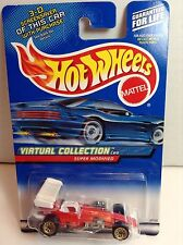 Mattel Hot Wheels 2000 Diecast #158 Virtual Collection Super Modified  MINT card