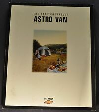 1997 Chevrolet Astro Van Truck Catalog Brochure LT LS Excellent Original 97