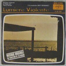 Lumière Violante 45 tour Thierry Fervant 1970