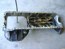 Mercedes M110 Upper Oil Pan Assembly 1100140602 280 CE SLC E w/ dipstick Tube