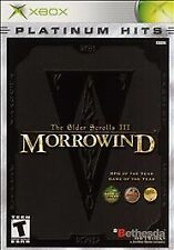 The Elder Scrolls III 3 Morrowind  GREAT XBOX Game