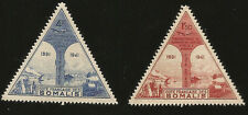 1943 WWII ERA FRANCE SOMALI COAST TRIANGULAR MINT STAMPS AIRCRAFT OBOCK DJIBOUTI