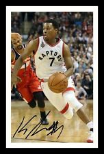 KYLE LOWRY - TORONTO RAPTORS AUTOGRAPHED SIGNED & FRAMED PP POSTER PHOTO