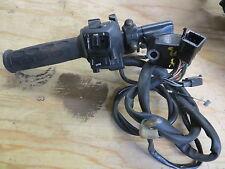 1991-1994 Honda CBR600F left handlebar switch w/clipon, choke lever&clutch pivot