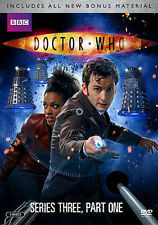 Doctor Who ~ TV Series ~ Complete Third Season Three PART ONE ~ NEW DVD SET