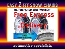 ARCTIC POLAR CAR 12mm SNOW CHAINS FOR TYRE SIZE 175 / 60 R14 WITH FREE CASE SC40