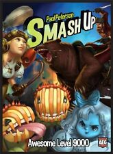 Smash Up Awesome Level 9000 Board Game, New, Free Shipping