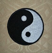 Yin Yang Ying Yang Yoga Lover Iron/ Sew-on Embroidered Patch / Badge/ Logo