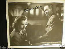 "SIGNED VINTAGE PHOTO  DEBORAH KERR ""I SEE A DARK STRANGER"" WITH RAYMOND HUNTLEY"