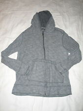 Marc Ecko Hooded Lightweight Sweatshirt Size S Gray