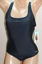 *NEW Speedo Black One-piece Swimsuit Athletic size 14 #S1